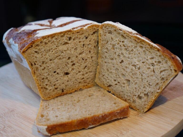 Czyste żyto chleb na zakwasie